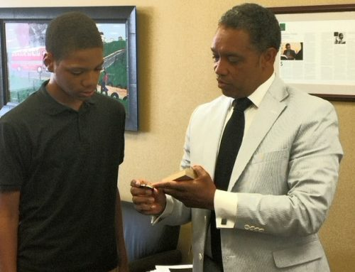 P.O.W.E.R. Student Receives Award from D.C. Attorney General
