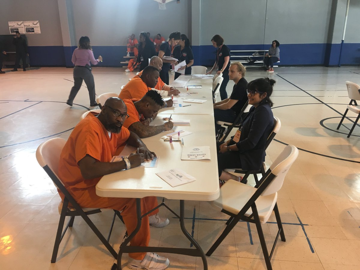 D.C. jail inmates cast ballots for upcoming primary election